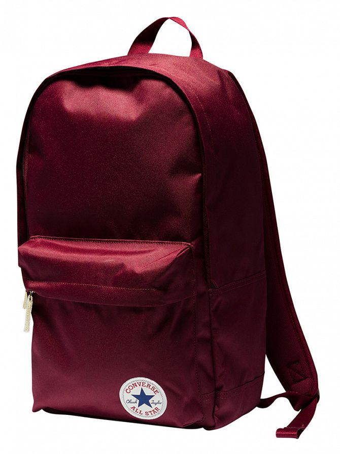 Converse Deep Bordeaux Stamp Core Logo Backpack