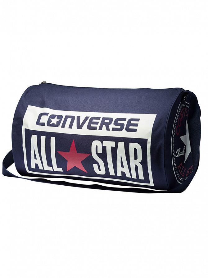 Converse Navy Legacyduff Logo Barrel Holdall