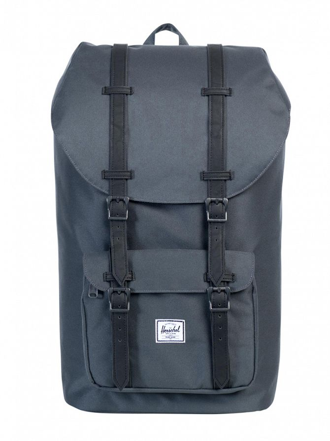 Herschel Supply Co Dark Shadow Little America Straps Backpack