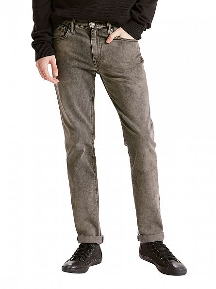 Levi's Charcoal 511 Slim Fit Coffee Pot Jeans