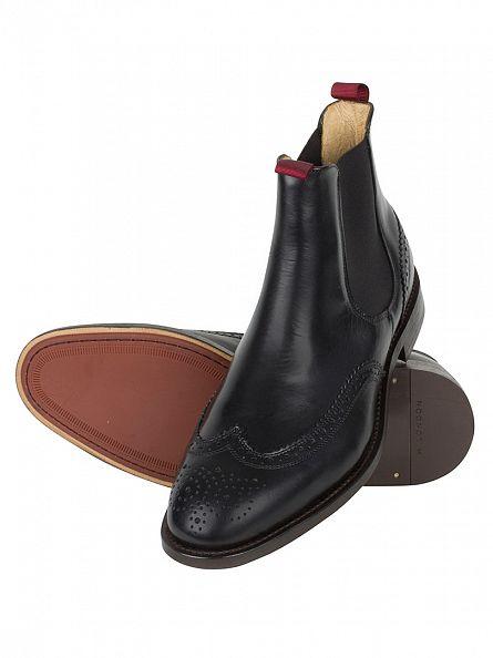 H by Hudson Black Breslin Calf Boots