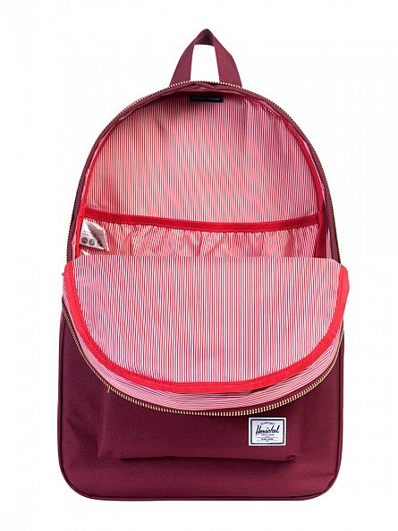 Herschel Supply Co Windsor Wine Settlement Logo Backpack