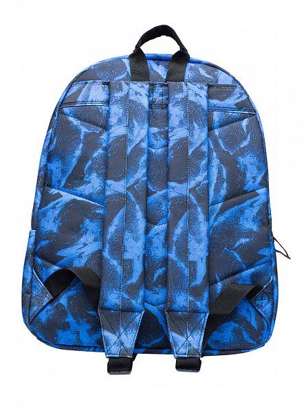 Hype Blue Multi Firewall Logo Backpack