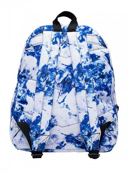 Hype Blue/White Multi Larimar Logo Backpack
