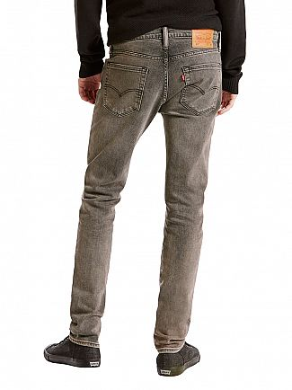 Levi's Charcoal 511 Slim Fit Coffee Pot Jeans