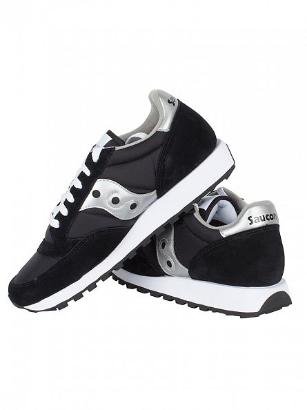 Saucony Black/Silver Jazz Original Trainers