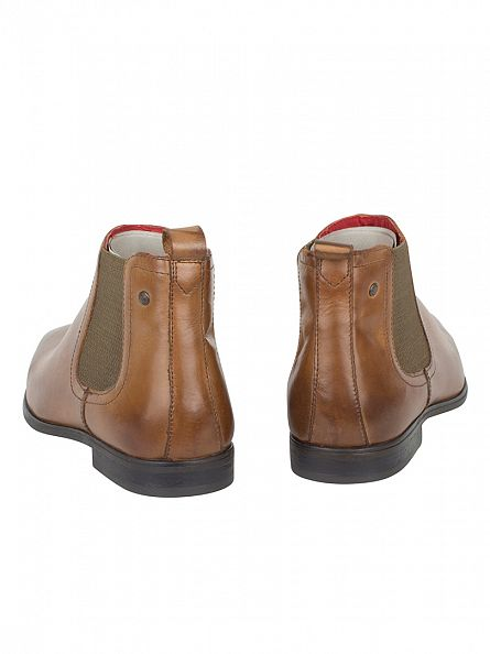 Base London Burnished Tan William Boots