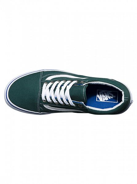 Vans Green Gables/True White Old Skool Trainers