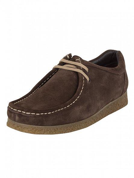 Base London Brown Genesis Wallabee Boots