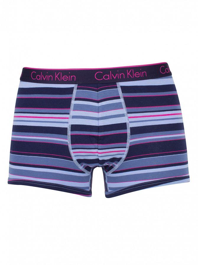 Calvin Klein Blue CK One Stripe Star Perry Trunks