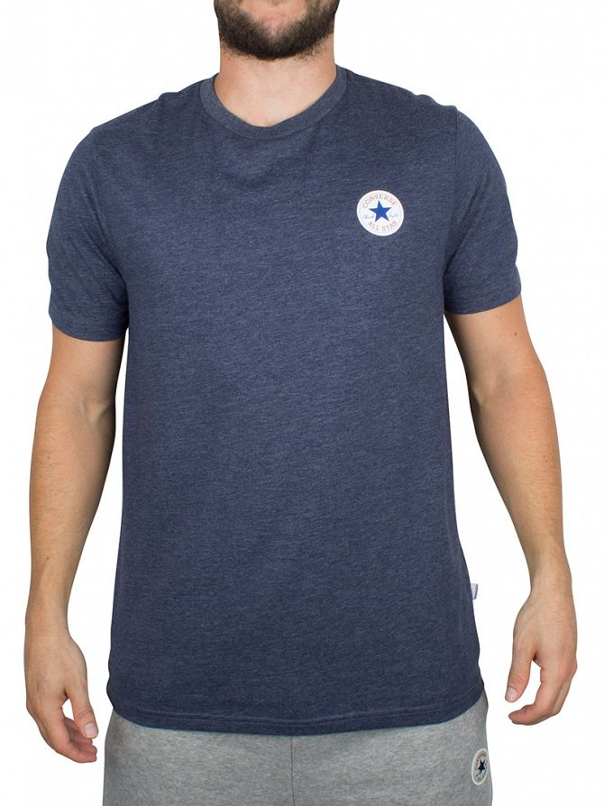 Converse Navy Core Left Chest Logo T-Shirt
