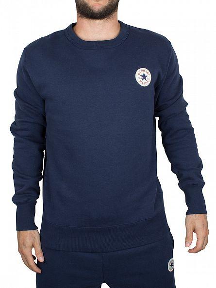 Converse Nighttime Navy Core Logo Sweatshirt