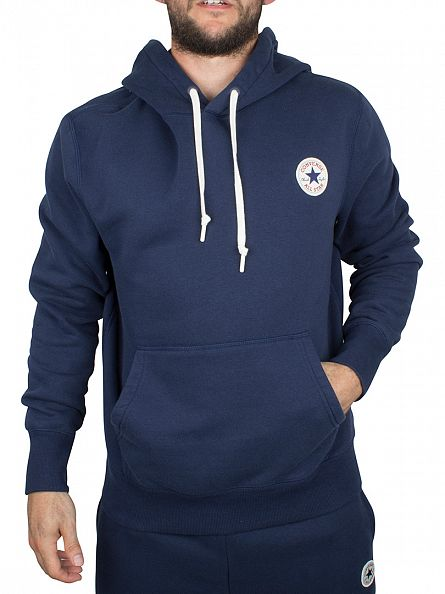 Converse Nighttime Navy Core Popover Logo Hoodie