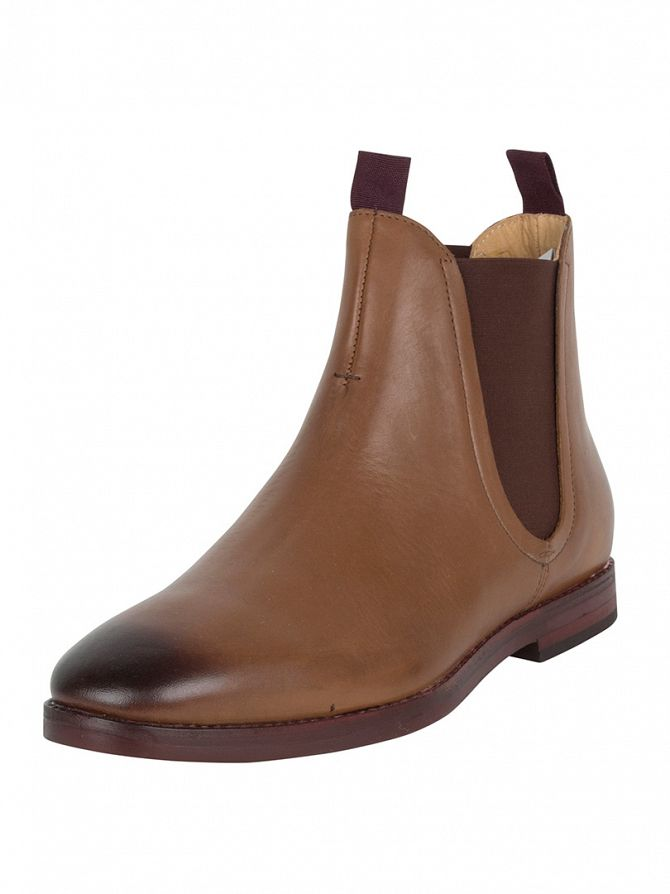 H by Hudson Tan Tamper Calf Boots