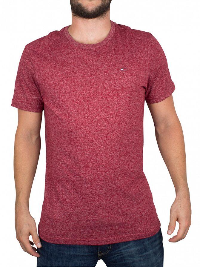 Hilfiger Denim Rhubarb THDM Basic Marled Logo T-Shirt