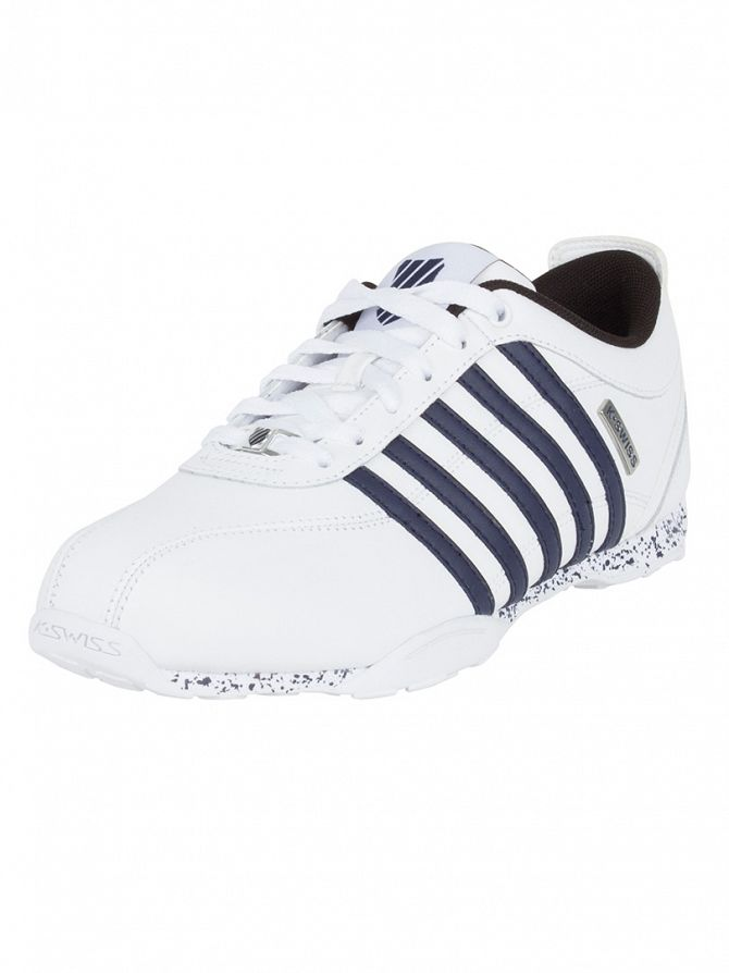 K-Swiss White/Navy/Black Arvee 1.5 Speckle Trainers