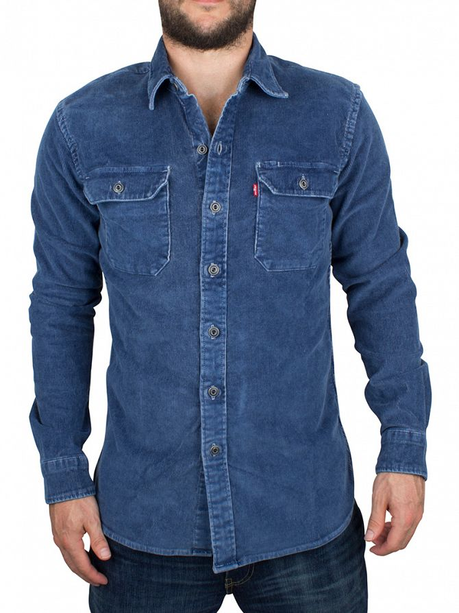 Levi's Light Denim Jackson Worker Authentic Wash Overshirt