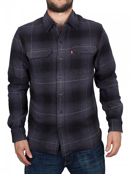 Levi's Graphite Jackson Worker Clove Overshirt