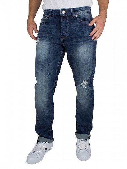 Only & Sons Light Blue Denim Loom LT 3945 Slim Fit Jeans