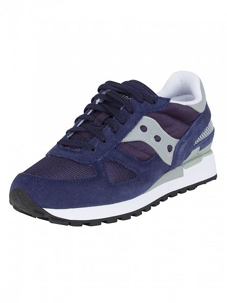 Saucony Navy/Grey Shadow Original Trainers
