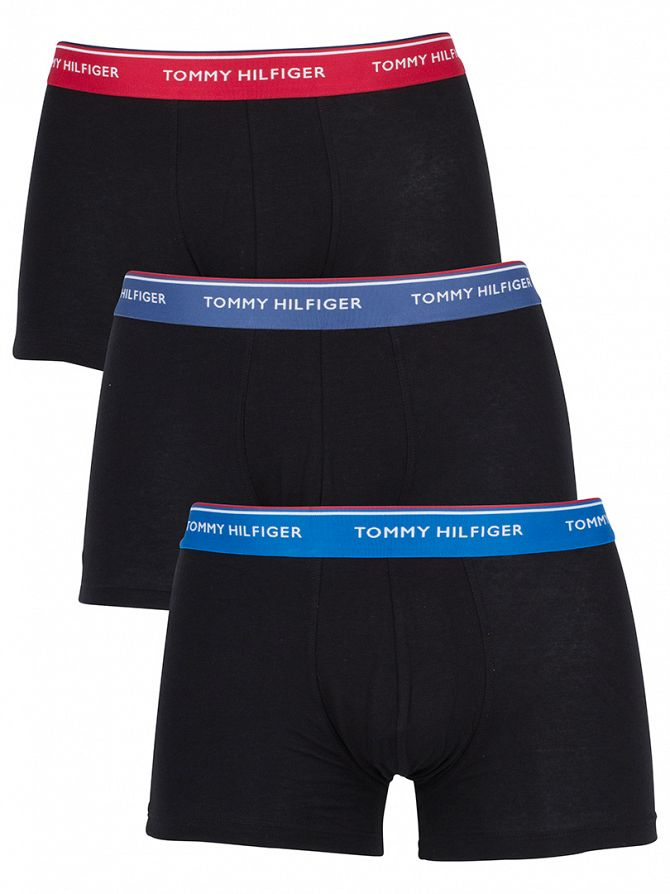 Tommy Hilfiger Imperial Blue/True Navy/Scoote 3 Pack Premium Essentials Trunks