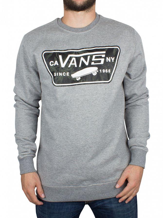 Vans Concrete heather Burkett Marled Graphic Logo Sweatshirt