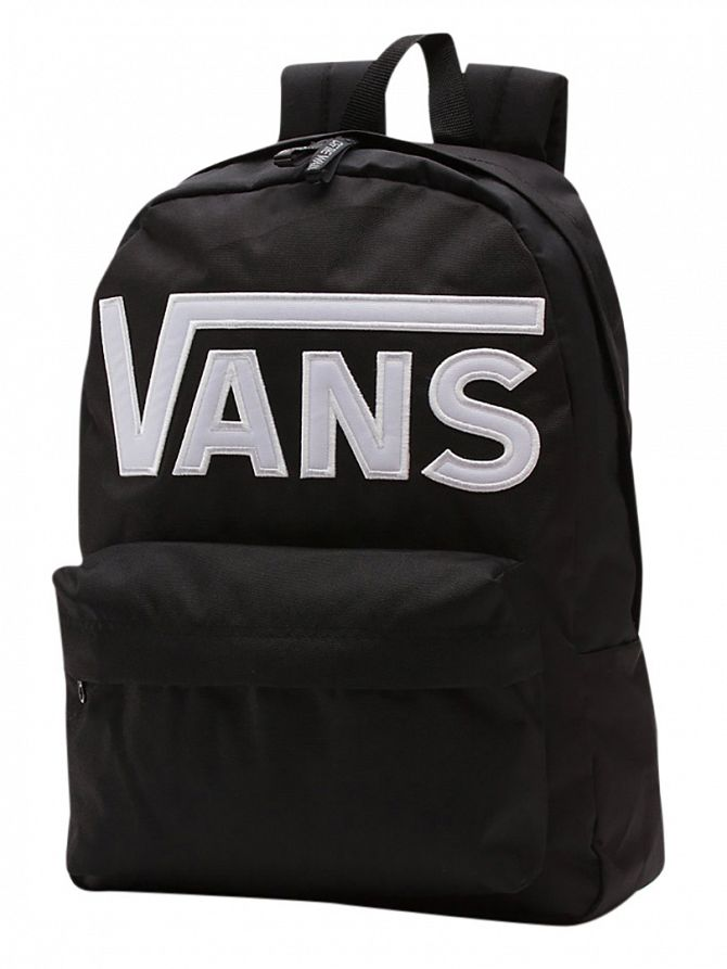 Vans Black/White Old Skool II Logo Backpack