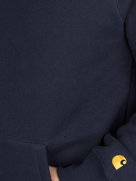 Carhartt WIP Navy Plain Chase Hoodie
