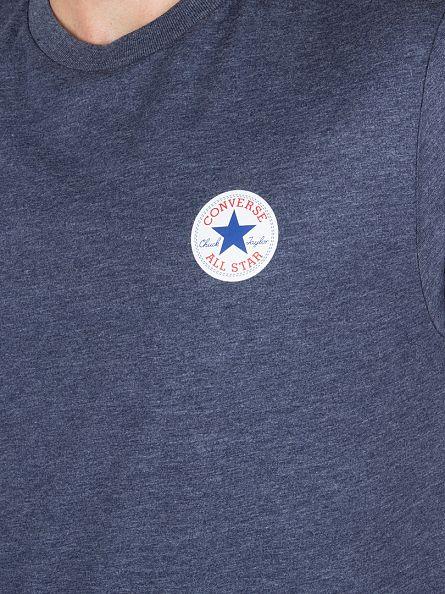 Converse Navy Core Left Chest Logo T-Shirt