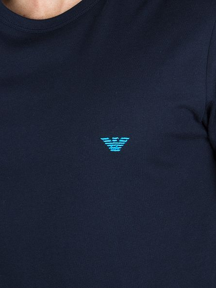 Emporio Armani Marine Longsleeved Logo T-Shirt