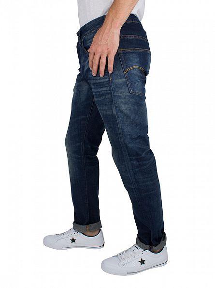 G-Star Medium Aged 3301 Slim Fit Jeans