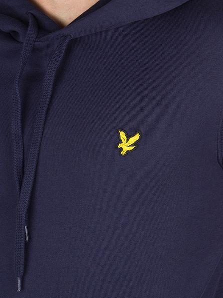 Lyle & Scott Navy Logo Hoodie