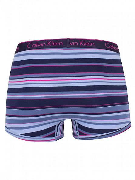 Calvin Klein Blue CK One Stripe Star Perry Trunks