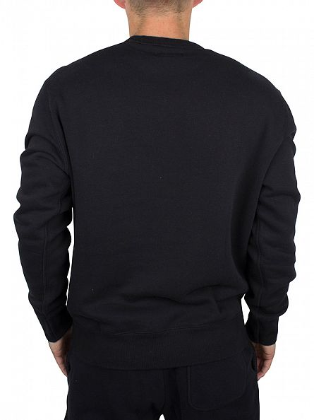 Converse Black Core Logo Sweatshirt