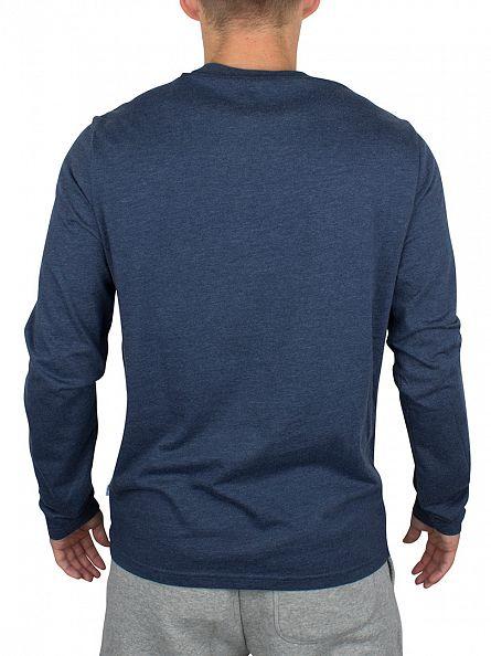 Converse Nighttime Longsleeved Core Left Chest Logo T-Shirt