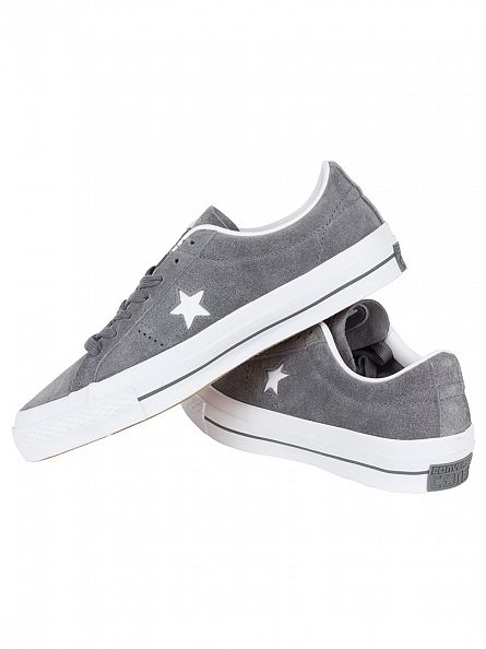 Converse Thunder/White One Star OX Suede Trainers