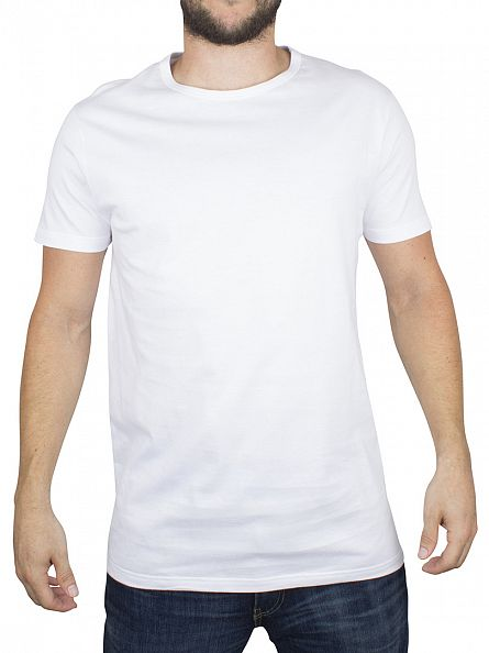 Edwin White 2 Pack Plain T-Shirt