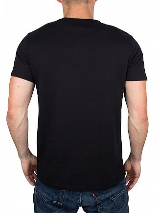 Edwin Black Union Logo T-Shirt