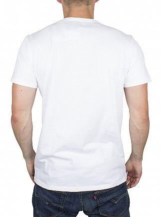 Edwin White Union Logo T-Shirt