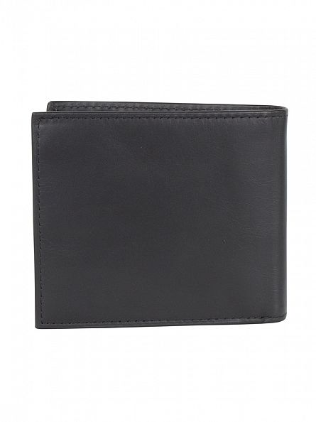 Polo Ralph Lauren Black Billfold Logo Wallet