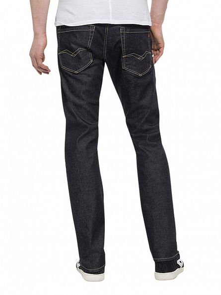 Replay Dark Indigo Waitom Slim Fit Jeans