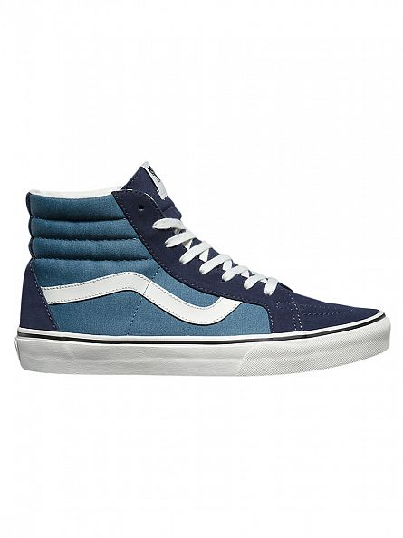 Vans Parisian Night/Blue Sk8-Hi Reissie 2 Tone Trainers
