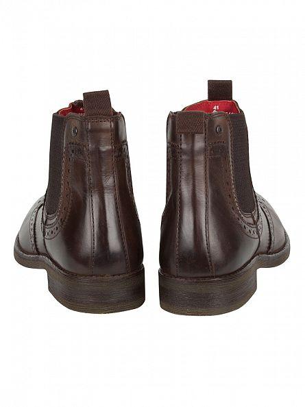 Base London Burnished Cocoa Southwark Boots