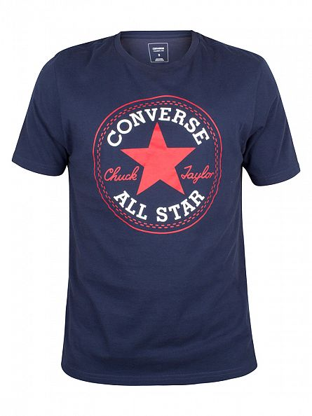 Converse Nighttime Navy Core Chuck Taylor Patch T-Shirt