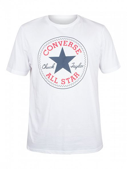 Converse White Core Chuck Taylor Patch T-Shirt