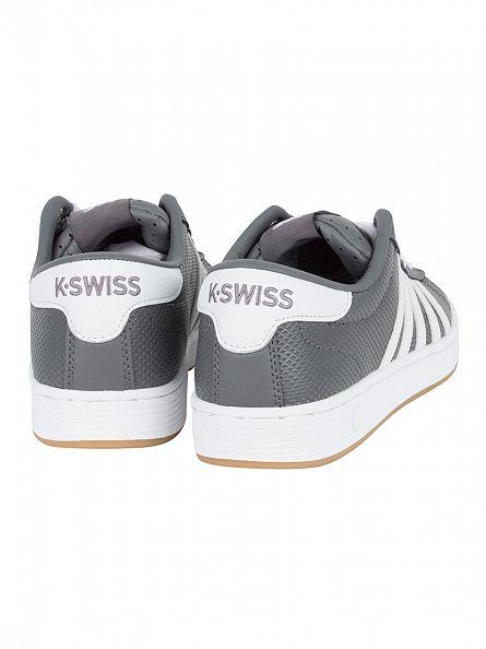 K-Swiss Charcoal/White/Dark Gum Hoke EQ CMF Trainers