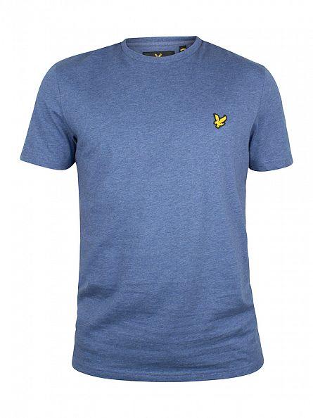 Lyle & Scott Indigo Marl Logo T-Shirt