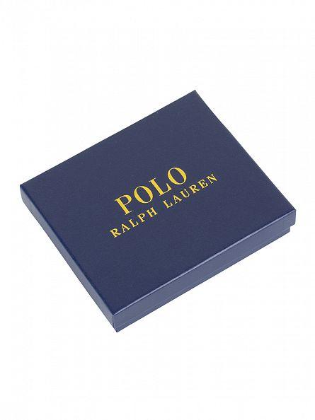 Polo Ralph Lauren Mahogany Billfold Logo Wallet