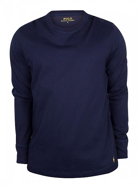 Polo Ralph Lauren Cruise Navy Longsleeved Logo T-Shirt