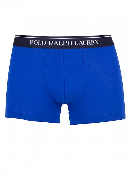 Polo Ralph Lauren Orange/Red/Blue 3 Pack Classic Pouch Stretch Logo Trunks
